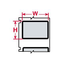 LS 2000 Printer Labels-CL-1429-969-BK