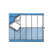 Kabelkennzeichnungskarten–Selbstlaminierende, beschriftbare Kennzeichnungsetiketten-SLHW-750-PK