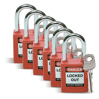 Safety Padlocks - Standard
