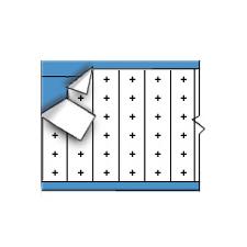 Draadmerkersymbolen op kaart-TWM-PLS-PK