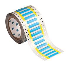 Hitzebeständige PermaSleeve Schrumpfschläuche zur Kabelkennzeichnung-2HT-187-2-BL-S