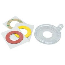 22 mm Push Button/E-Stop Lockout Bases 5 Pk