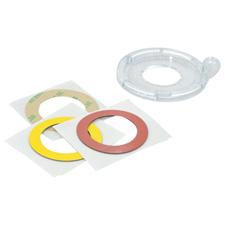 30 mm Push Button/E-Stop Lockout Bases 5 Pk