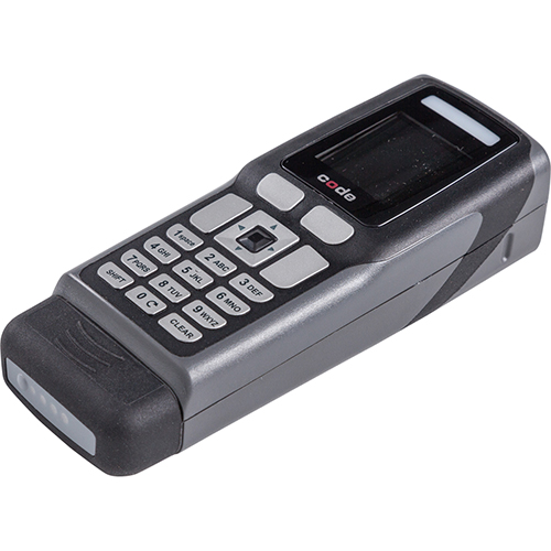 CR3600 dark grey Palm scanner with  bluetooth, battery and a charging station with embedded modem and a 1M USB charge cable-CR3600, Palm Modem USB