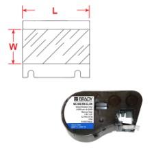 BMP51/53 Labelmaker Tape-MC-1500-595-CL-BK