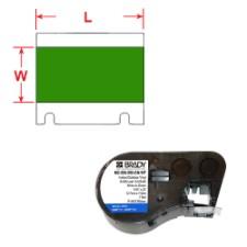 BMP41/BMP51/BMP53 Labelmaker Tape-MC-500-595-GN-WT