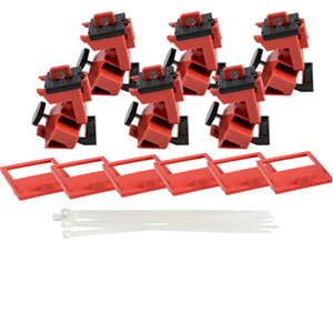 TagLock Circuit Breaker: 480/600V Clamp-on - 25/pk