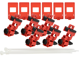TagLock Circuit Breaker: 120/277V Clamp-on - 50/pk-148699