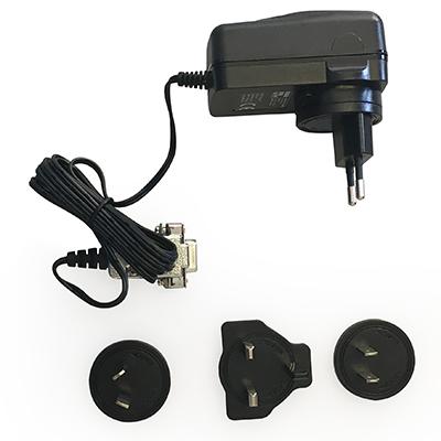 Power Supply Kit for ALF14 series : EU, UK, US plugs-ALF14PSU EU/UK/US