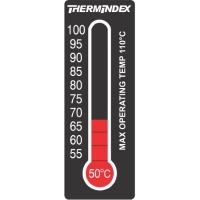 Reversible Temperature Indicating Labels - 11 Level-TIL-7-50C-100C