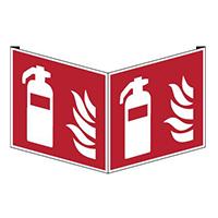Fahnen - und Winkelschilder: Feuerlöscher/Löschschlauch