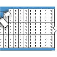 Nummers in miniatuurformaat op kaart-TMM-1-PK
