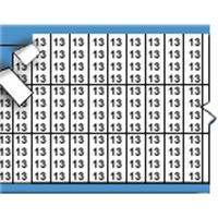 Nummers in miniatuurformaat op kaart-TMM-13-PK