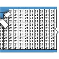 Nummers in miniatuurformaat op kaart-TMM-21-PK