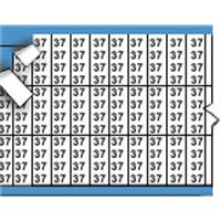 Nummers in miniatuurformaat op kaart-TMM-37-PK