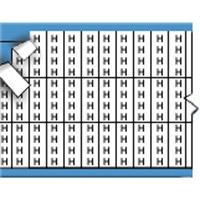 Letters in miniatuurformaat op kaart-TMM-H-PK