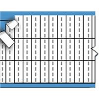 Letters in miniatuurformaat op kaart-TMM-I-PK