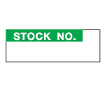 Inventory Labels - Stock No.-WO-37