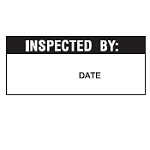 Quality Control labels - Inspected by-WO-52