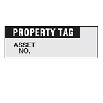 Inventory Labels - Property tag-WOAF-29