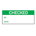 Quality Control labels - Checked-256028