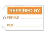 Quality & Material Control Tags - Repaired by-256517