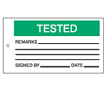 Quality & Material Control Tags - Tested-256551