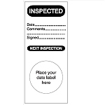 Maintenance & Service Labels - Inspected-256900