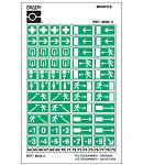 Safety Signs Minipiktogramme: Kombi-Karten - Mini 4: Rettungsschilder-MINI-4
