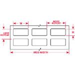 Für den Thermotransferdruck geeignete Etiketten