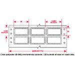 PermaShield Dot Matrix Printable Labels-PSL-3-619-5