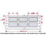 PermaShield Dot Matrix Printable Labels-PSL-3-969-5