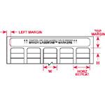 LaserTab Labels-LAT-41-707-10