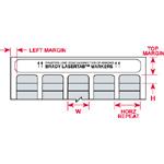LaserTab Laser Printable Labels-LAT-20-773-2.5