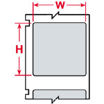 LS 2000 Printer Labels-CL-2439-969
