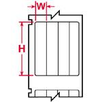LS 2000 & BradyMarker XC Plus Printer Labels-WML-902-502-4S