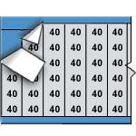 Draadmerkernummers op kaart-AF-40-PK