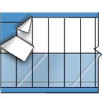 Kabelkennzeichnungskarten–Selbstlaminierende, beschriftbare Kennzeichnungsetiketten-SLFW-250-PK