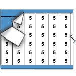 Kabelmerkers - Cijfers-CAB-5-PK
