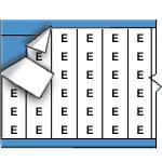 Kabelmerkers - Letters-CAB-E-PK