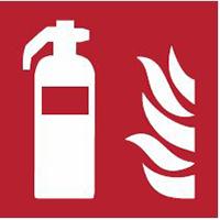 Brandschutzkennzeichnung: Feuerlöscher