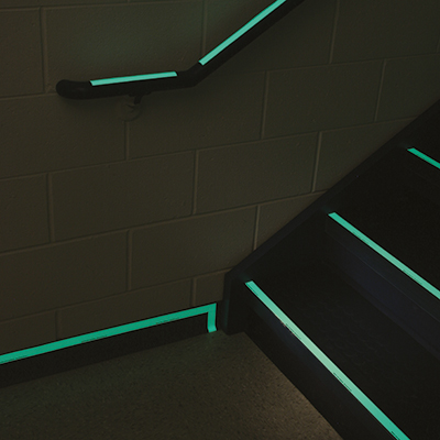 Glow-in-the-dark Warning Tape-PHOLUM C TAPE 50MMx1M
