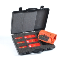 Low Voltage NV Fuse Rails Set Sizes NH00 & NH1 - NH3 with glove