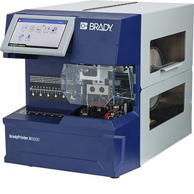 Imprimante BradyPrinter A5500 avec applicateur d'étiquettes drapeaux