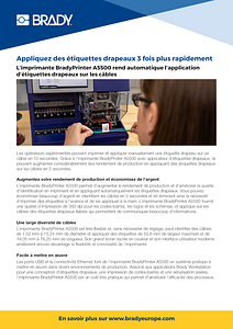 A5500 Infosheet in French