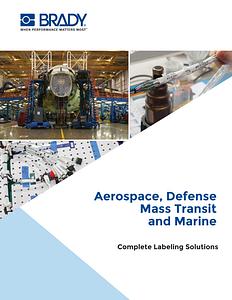 Aerospace, Defense, Mass Transit, and Industrial Markets Literature