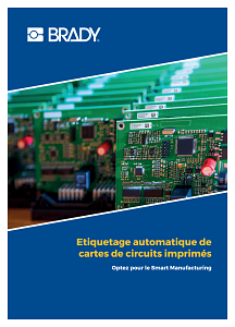 Automated printed circuit board labelling brochure - French
