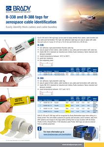 B-338 / B-388 Information sheet (English)
