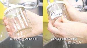 B-403 Dissolvable Paper Labels