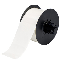 Durable, low-shrink vinyl with our most aggressive adhesive. Conforms to irregular, curved, rough and highly textured surfaces (painted cinder blocks, uneven wood, textured plastics, paper-jacketed pipes, powder-coated surfaces). Adheres to